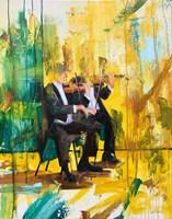 Obraz do salonu artysty Cyprian Nocoń pod tytułem Duetto