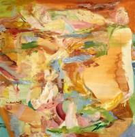 Obraz do salonu artysty Cyprian Nocoń pod tytułem Jenny's party