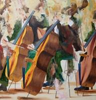 Obraz do salonu artysty Cyprian Nocoń pod tytułem Andante