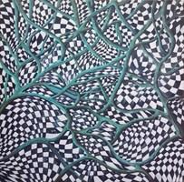 Obraz do salonu artysty Magdalena Rytel-Skorek pod tytułem Rajd