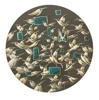 Obraz do salonu artysty Magdalena Rytel-Skorek pod tytułem Biały kruk