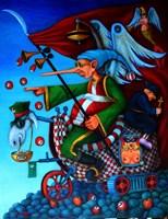 Obraz do salonu artysty Jacek Lipowczan pod tytułem Bez obaw robimy krok do przodu...