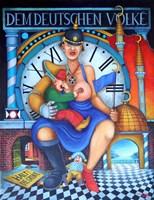 Obraz do salonu artysty Jacek Lipowczan pod tytułem Europejskie Madonny 2 - GERMANIA