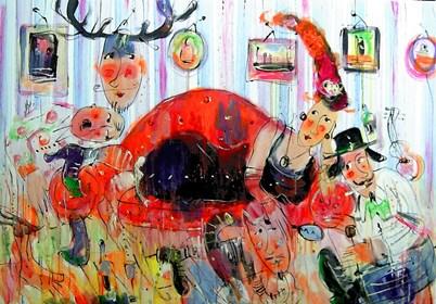 Obraz do salonu artysty Dariusz Grajek pod tytułem Wenus....