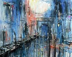 Obraz do salonu artysty Dariusz Grajek pod tytułem Weneckie klimaty....