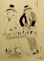 Obraz do salonu artysty Dariusz Grajek pod tytułem Muzykanty....