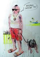 Obraz do salonu artysty Dariusz Grajek pod tytułem All inclusive.....