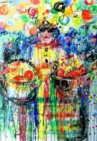 Obraz do salonu artysty Dariusz Grajek pod tytułem Pomarańczarka...