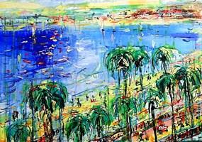 Obraz do salonu artysty Dariusz Grajek pod tytułem Cannes....