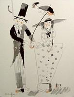 Obraz do salonu artysty Dariusz Grajek pod tytułem Ona i on.....