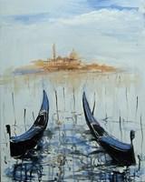 Obraz do salonu artysty Dariusz Grajek pod tytułem Gondole....