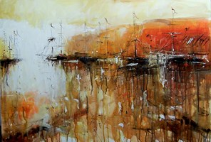 Obraz do salonu artysty Dariusz Grajek pod tytułem Costa Brava....