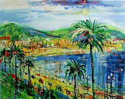 Obraz do salonu artysty Dariusz Grajek pod tytułem Nicea...