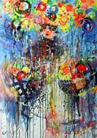 Obraz do salonu artysty Dariusz Grajek pod tytułem Kobieta z owocami...