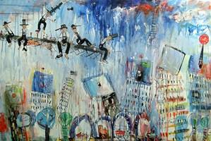 Obraz do salonu artysty Dariusz Grajek pod tytułem New York...