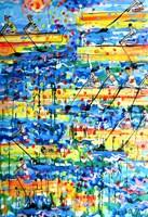Obraz do salonu artysty Dariusz Grajek pod tytułem Wioślarskie regaty....