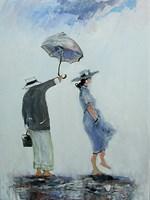 Obraz do salonu artysty Dariusz Grajek pod tytułem Pod wiatr....