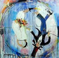 Obraz do salonu artysty Dariusz Grajek pod tytułem Człowiek Witruwiański.....