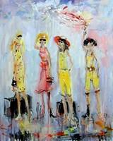 Obraz do salonu artysty Dariusz Grajek pod tytułem Przed odlotem.....