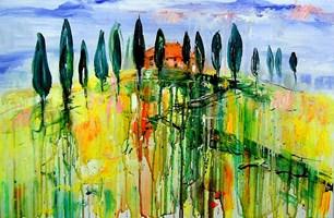 Obraz do salonu artysty Dariusz Grajek pod tytułem Toskania....