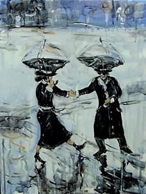 Obraz do salonu artysty Dariusz Grajek pod tytułem Jan podaj dłoń....
