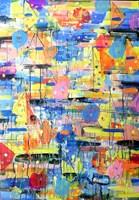 Obraz do salonu artysty Dariusz Grajek pod tytułem Regaty...