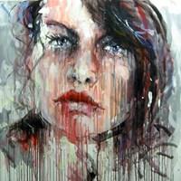 Obraz do salonu artysty Dariusz Grajek pod tytułem Ona....