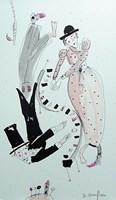Obraz do salonu artysty Dariusz Grajek pod tytułem Duet....