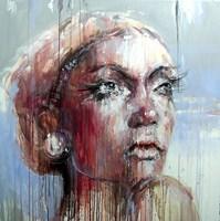 Obraz do salonu artysty Dariusz Grajek pod tytułem Zamyślona....
