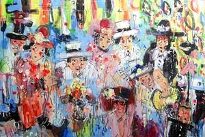 Obraz do salonu artysty Dariusz Grajek pod tytułem Wielka majówka....