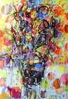 Obraz do salonu artysty Dariusz Grajek pod tytułem Słoneczne kwiaty.....