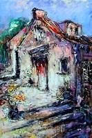 Obraz do salonu artysty Dariusz Grajek pod tytułem Włoski zaułek.....