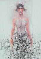 Obraz do salonu artysty Dariusz Grajek pod tytułem Syrena....