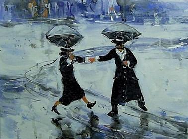 Obraz do salonu artysty Dariusz Grajek pod tytułem Janie podaj mi rekę....