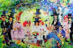 Obraz do salonu artysty Dariusz Grajek pod tytułem Wielka majówka...
