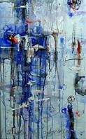 Obraz do salonu artysty Dariusz Grajek pod tytułem Moderator...