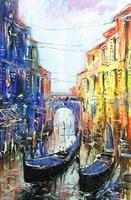 Obraz do salonu artysty Dariusz Grajek pod tytułem Weneckie popołudnie....