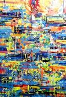 Obraz do salonu artysty Dariusz Grajek pod tytułem Sails.....
