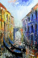 Obraz do salonu artysty Dariusz Grajek pod tytułem Gondole...