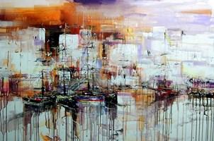 Obraz do salonu artysty Dariusz Grajek pod tytułem Costa Dorada....