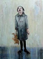 Obraz do salonu artysty Dariusz Grajek pod tytułem Maaamooo...