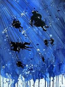 Obraz do salonu artysty Dariusz Grajek pod tytułem Nad chmurami....