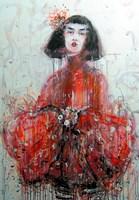 Obraz do salonu artysty Dariusz Grajek pod tytułem Gejsza....