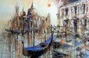 Obraz do salonu artysty Dariusz Grajek pod tytułem Venice...