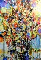 Obraz do salonu artysty Dariusz Grajek pod tytułem Kwiaty...