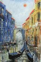 Obraz do salonu artysty Dariusz Grajek pod tytułem Wenecki zaułek....