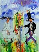Obraz do salonu artysty Dariusz Grajek pod tytułem Raj....