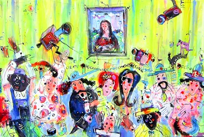 Obraz do salonu artysty Dariusz Grajek pod tytułem Muzeum...