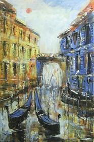 Obraz do salonu artysty Dariusz Grajek pod tytułem Wenecja...