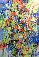 Obraz do salonu artysty Dariusz Grajek pod tytułem Bukiet słoneczników...
